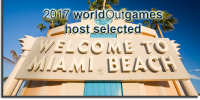 Miami Beach / Miami wins 2017 worldOutgames